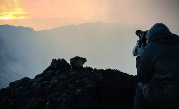 nyiragongo hiking congo in Africa