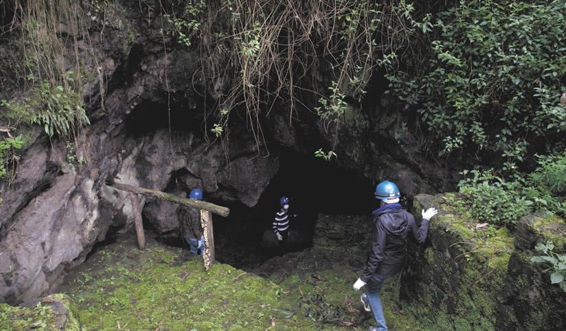 Musanze caves Rwanda